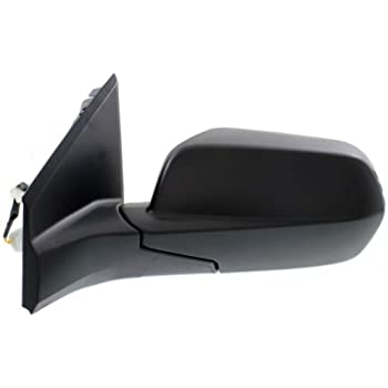 12-14 CRV Power Non-Heat Manual Folding Black Rear View Mirror Left Driver Side