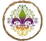Mardi Gras Treats (Mirage Pet Products Mardi Gras Fleur De Lis Dog Treats (12 Pack))