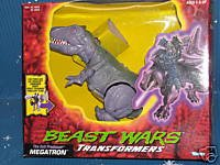 THE EVIL PREDACON MEGATRON BEAST WARS TRANSFORMERS