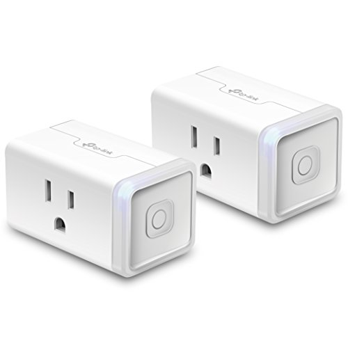 Kasa Smart Wi-Fi Plug Mini by TP-Link (2-Pack) - Control your Devices from Anywhere, No Hub Required, Compact Design, Works With Alexa and Google Assistant (HS105KIT) by TP-Link (Image #2)