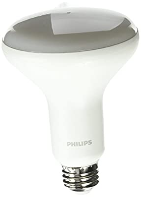 Philips 462143 Dimmable 65 Watt Equivalent Soft White BR30 Dimmable Led Light Bulb 2 Pack