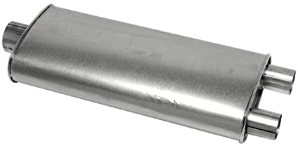 For Ford F-150 75-79 Walker 18132 SoundFX Steel Round Aluminized Exhaust Muffler