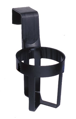Custom Accessories 91106 Black Small Cup Holder - Car Cup Holder Window