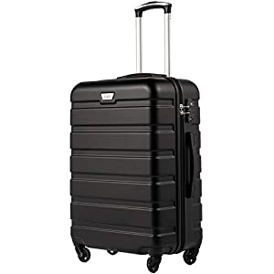 COOLIFE Suitcase Trolley Carry On Hand Cabin Luggage Hard Shell Travel Bag Lightweight 2 Year Warranty Durable 4 Spinner…
