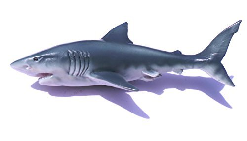 Great White Shark SEA Mammal Fish , Thailand 3D High Quality Resin TOY Fridge - Magnet Shark