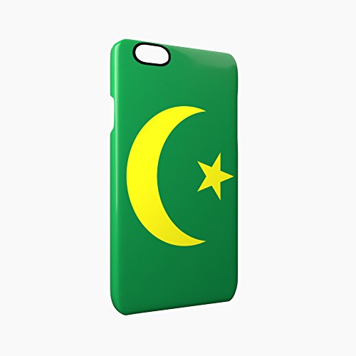 Flag of Mauritania Glossy Hard Snap-On Protective iPhone 6 / 6S Case Cover