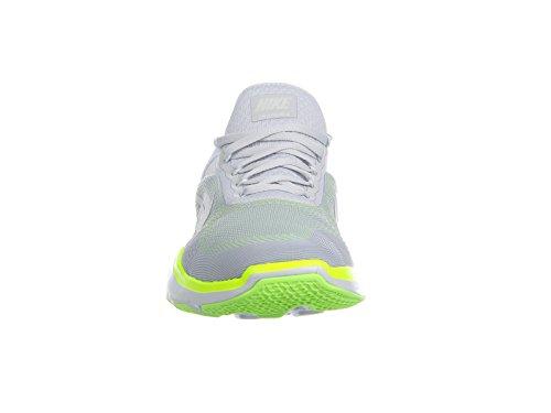 Nike Mens Trainer Free V7 Puro Platino / Volt / Ghost Green Nylon Scarpe Da Corsa 12,5 D Us