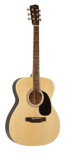 Savannah SGO-12-NA 000-Style Acoustic Guitar, Natural by Savannah