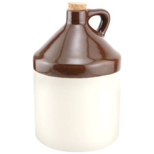 Old Fashioned Stoneware Jug Growler - 64 oz