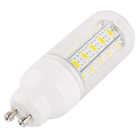 Bombilla LED GU10 7 W Cálido Blanco 36 SMD 5730 inversa cono Corn Light AC 220 V: Amazon.es: Iluminación