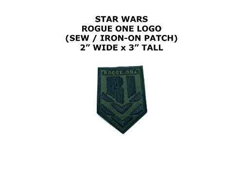 Rogue One Star Wars DIY Embroidered Sew or Iron-on Applique Patch Outlander (Diy Rogue Costume)