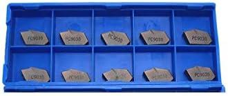 GENERICS LSB-Werkzeuge, 10 STÜCKE einstechen Werkzeug SP300 SP400 SP200 NC3020 NC3030 PC9030 geschlitzte und geschlitzte hartmetall drehwerkzeug drehwerkzeuge (Insert Width(mm) : SP300 PC9030)