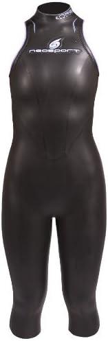 NeoSport 5/3mm Womens Triathlon Sleeveless John Wetsuit Tri Suit Triathlete Wet Suit Authorized Dealer Full Warranty, XS - 4