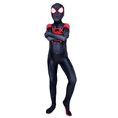Halloween Kids Youth Superhero Cosplay Costume Spandex Lycra Bodysuit Zentai: Clothing