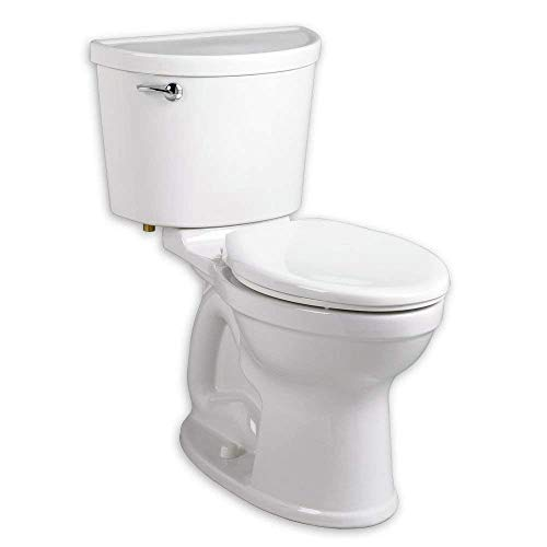 American Standard 211BA.105.020 Champion PRO Right Height Round Front Toilet Combination with Right-Hand Trip Lever Less Seat, White
