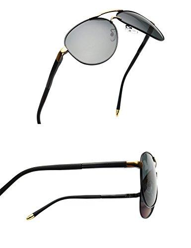 amazon baviron mens aviator sunglasses polarized military Oakley Polarized Sunglasses for Men amazon baviron mens aviator sunglasses polarized military mirrored pilot retro glasses uv400 black gold grey clothing