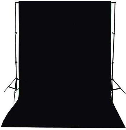 Photography Chromakey Backdrop 10x20 ft 3m x 6m Black 100% Cotton Muslin Studio background