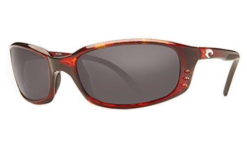 Costa Del Mar Brine Sunglasses Tortoise / Gray - Sunglasses Brine