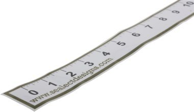 Sealect Design Fishing Ruler Sticker K325900-1