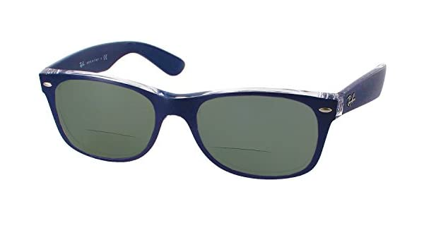 59f495f9933 ... best amazon ray ban 2132 bifocal reading sunglasses designer reading  glasses matte blue 2.75 health personal