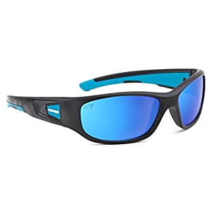 Eye Ojo Officially Licensed NFL Sunglasses, Carolina Panthers, 3D Logo on Temple - 100% UVA, UVB & UVC Protection