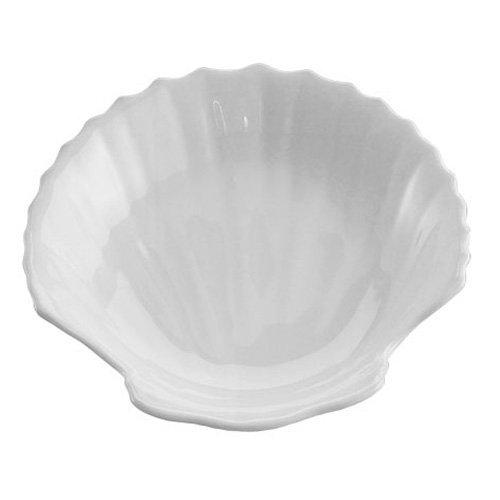 HIC 25875-7 Porcelain Shell Dish, 7