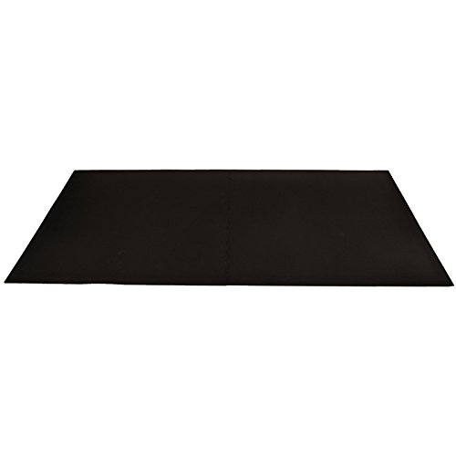 IncStores 3/4in Shock Mats Interlocking Heavy Duty High Impact Weight Room Gym Flooring by IncStores (Image #1)