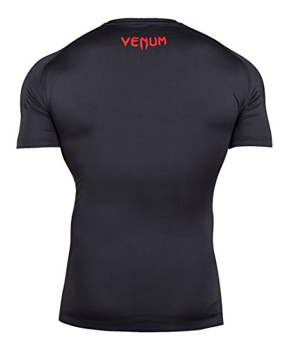 Venum Men's Contender Compression Rash Guard Black