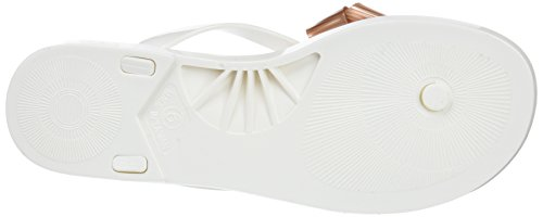 Blanco para White Rose Ffffff Chanclas Gold Mujer Ted Baker Suszie F1qRnWAX