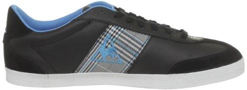 Le Coq Sportif 1310866_COQ - Zapatillas de cuero para hombre Negro (Noir (Black/Hawaian Ocean))