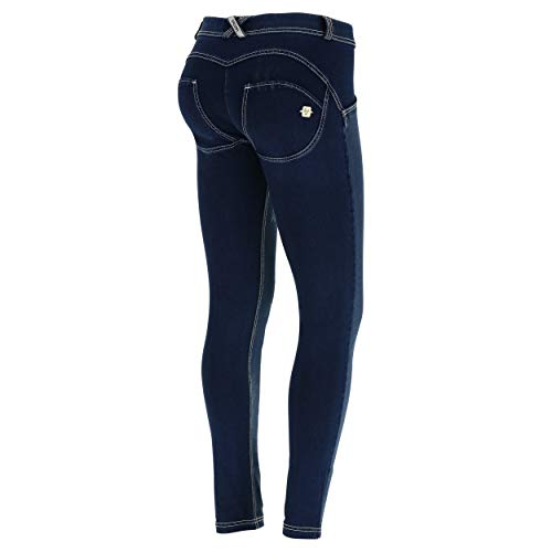 Freddy Bianche Scuro Panta J0y Lungo cuciture Jeans FY1Ywqxrz