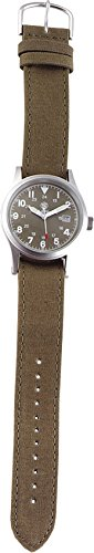 Smith & Wesson Men's SWW-1464-OD Military Silver-Tone Watch with Interchangeable Canvas Bands