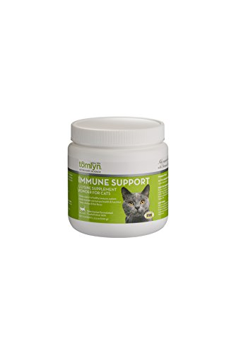 Tomlyn Immune Support L-Lysine Supplement Powder for Cats, 100g (Cat Supplement)