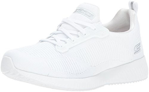 Skechers Frame on White Slip Squad Sneaker Photo Damen Bobs Weiß WvBRWSnT