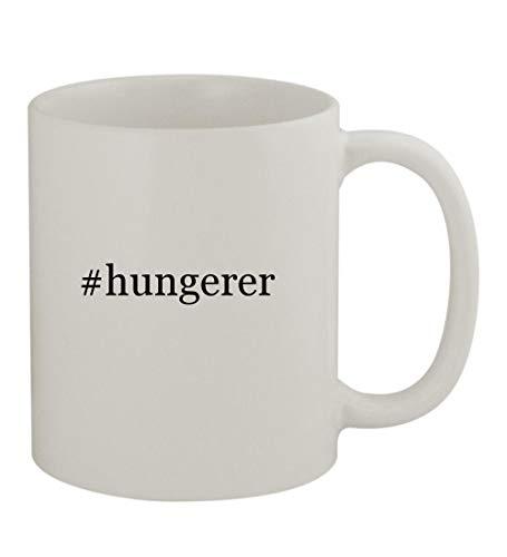 #hungerer - 11oz Sturdy Hashtag Ceramic Coffee Cup