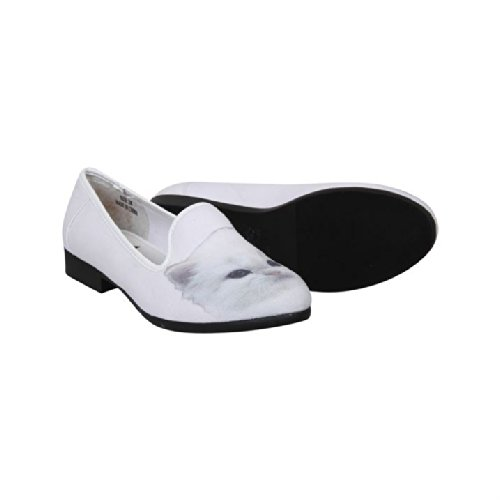 YRU Womens Lowf Dandy Pumps White 3 xNoQdhd