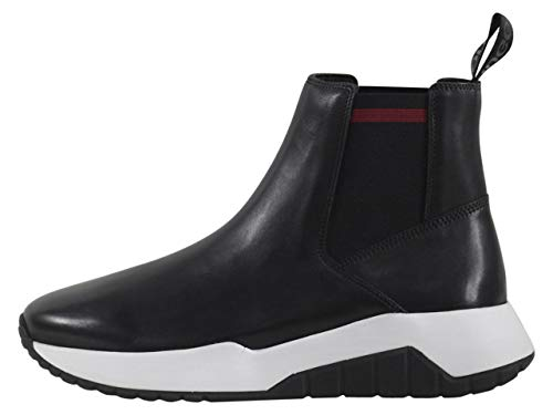 Hugo Boss Men's Atom Black Chelsea Boots Shoes Sz: 11