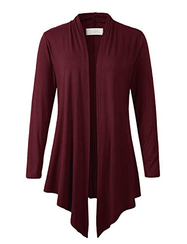 Great sweater. Giving as an xmas gift but i think she will love it. Very roomy. Nice red/maroon color