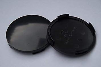 4 Nabenkappen Nabendeckel ohne Logo Außen 63,5 Innen 61,0 mm für Alutec