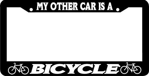 Mark Reynolds My Other Car is A Bicycle Bike Cyclist License Plate Frame