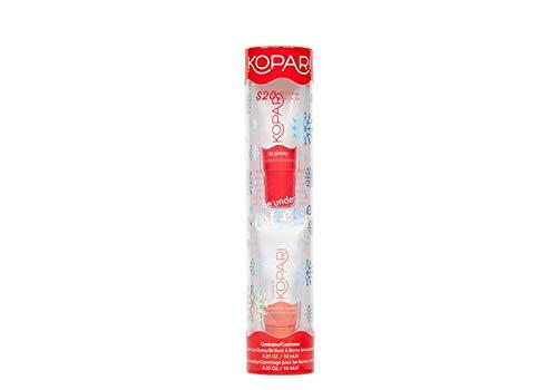 Kopari Kiss Me Under the Mistletoe Kit - Includes .35 oz Coconut Lip Scrubby and .35 oz Hydrating Lip Glossy
