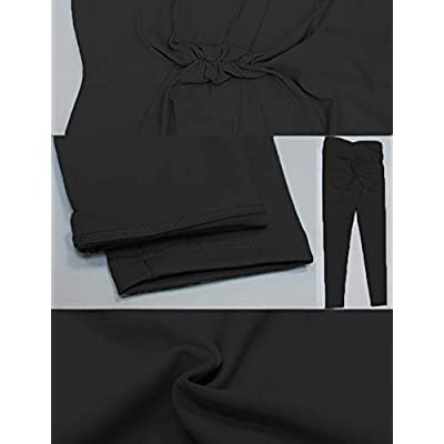 Hioinieiy Women's Scrunch Ruched Butt Lifting Booty Enhancing Leggings High Waist Push Up Yoga Pants with Pockets at Women's Clothing store