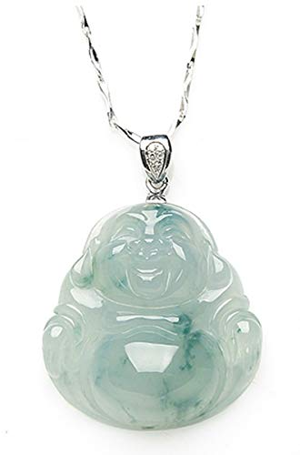 MPH-jewelry Jadeite Jade Pendant - Buddha (Grade A Jade) Amulets