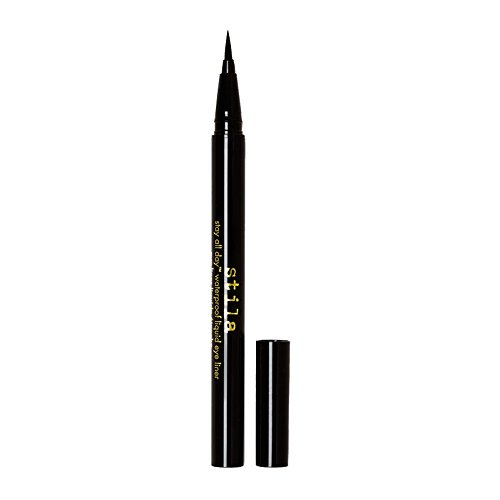 Stila Stay All Day Waterproof Liquid Eye Liner, Intense Black 0.016 fl.oz/oz liq.0.5ml