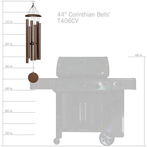 Corinthian cloches 44 pouces Windchime cuivre veine