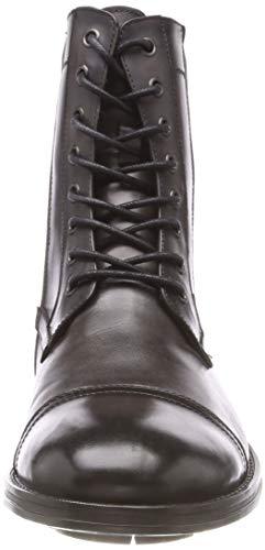 Uomo 020 Hugh Grigio Combat Kenneth Stivali Boot Grey Cole wnX5qY8Fxa