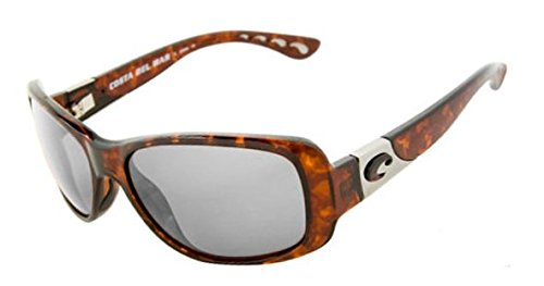 Costa Del Mar Tippet 580P Tippet, Tortoise Frame Silver Mirror, Silver Mirror
