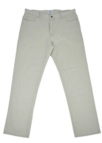 turnbull-asser-mens-twill-cotton-straight-leg-casual-pants-grey-36w-x-32l