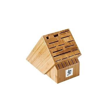 Shun 22-Slot Bamboo Block