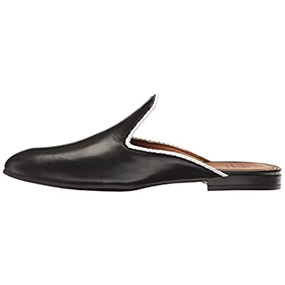 Amazon.com | Aquatalia Women's Emerson Nappa Mule, Black, 5.5 M US | Mules & Clogs